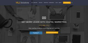 ML2 Solutions website